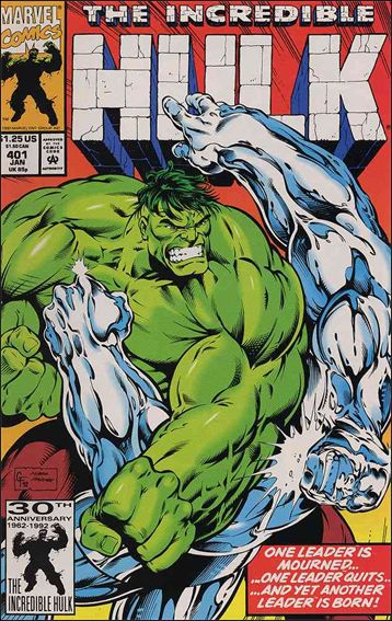 Incredible Hulk (1968) 401-A by Marvel