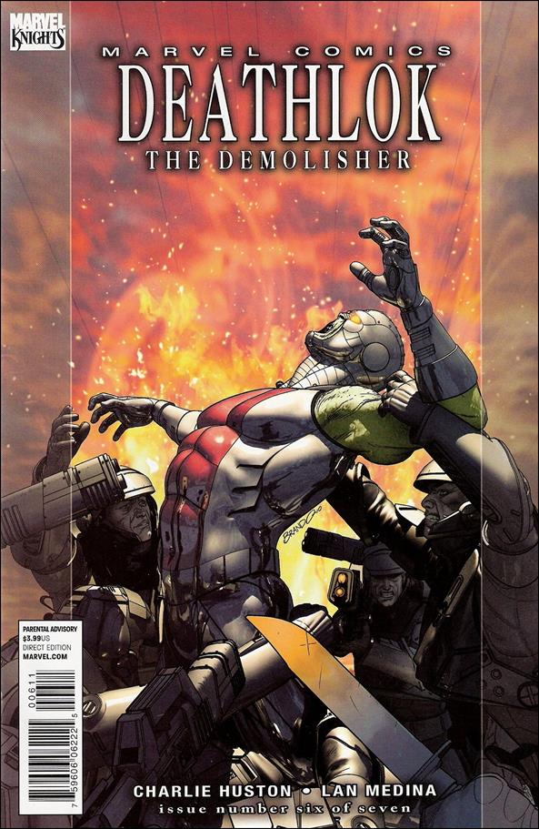 Deathlok (2010) 6-A by Marvel