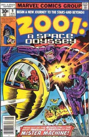 2001: A Space Odyssey 9-A by Marvel