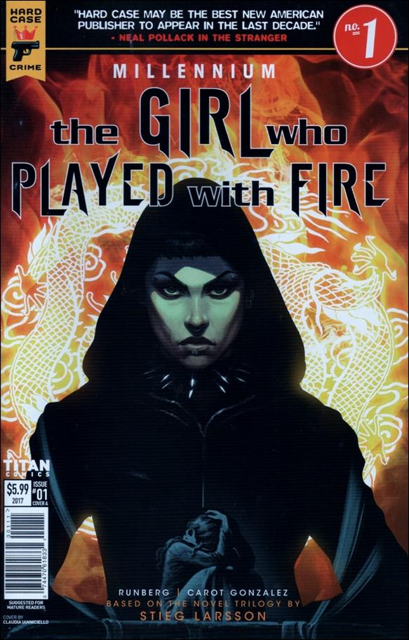 Millennium: The Girl Who Played with Fire 1-A by Hard Case Crime
