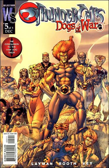 ThunderCats: Dogs of War 5-B by WildStorm