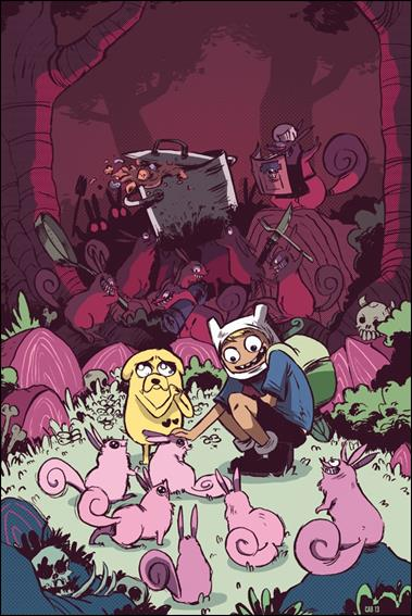 Adventure Time 18-C by Kaboom!