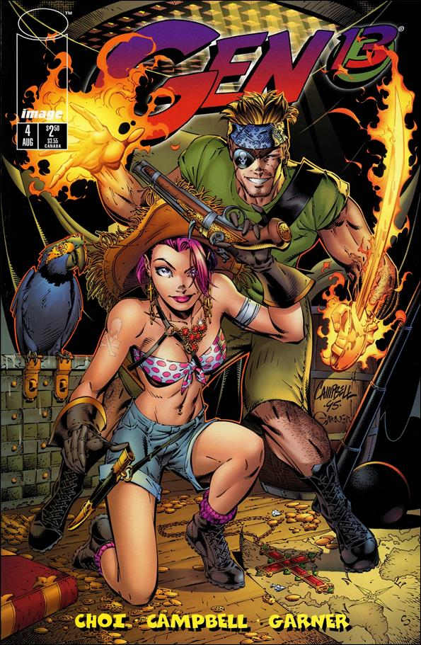 Gen13 (1995) 4-A by WildStorm
