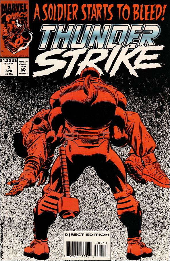 Thunderstrike (1993) 7-A by Marvel