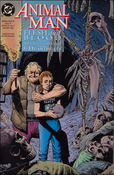 Animal Man (1988) 55-A by Vertigo