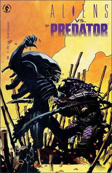Aliens vs Predator 0-A by Dark Horse