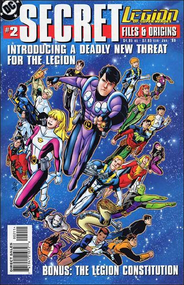 Legion of Super-Heroes: Secret Files and Origins 2-A by DC