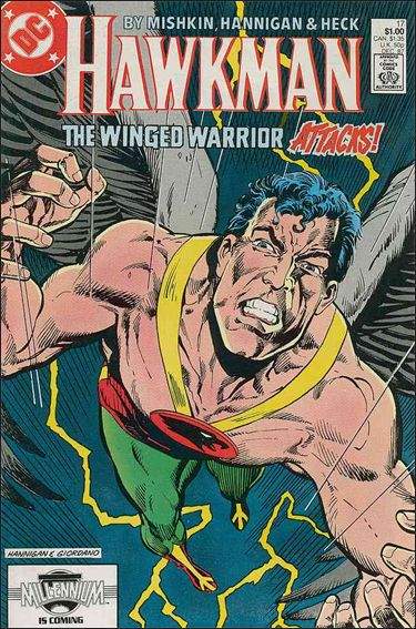 Hawkman (1986) 17-A by DC
