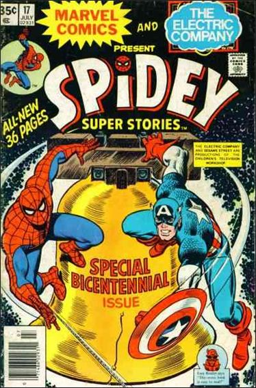 Spidey Super Stories 17-A by Marvel
