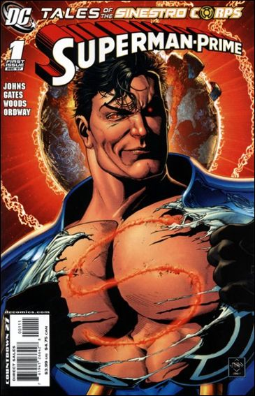 Tales of the Sinestro Corps: Superman Prime 1-A by DC