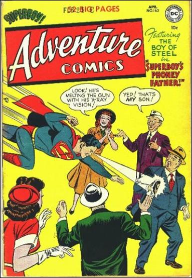 Adventure Comics (1938) 163-A by DC