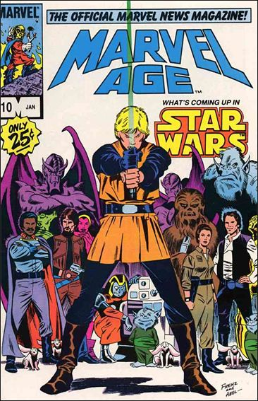 Marvel Age 10-A by Marvel