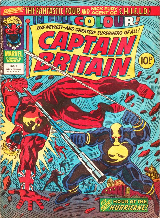 Captain Britain (UK) (1976) 4-A by Marvel UK