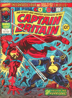 Captain Britain (UK) (1976) 4-A