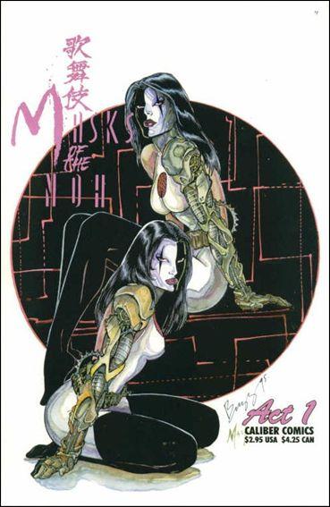 Kabuki: Masks of the Noh 1-C by Caliber
