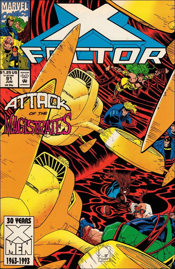 X-Factor (1986) 91-A by Marvel