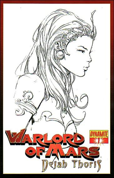 Warlord of Mars: Dejah Thoris 1-F by Dynamite Entertainment