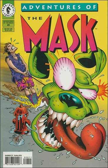 Adventures of the Mask 8-A by Dark Horse