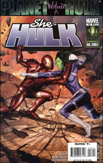 She-Hulk (2005) 18-A by Marvel