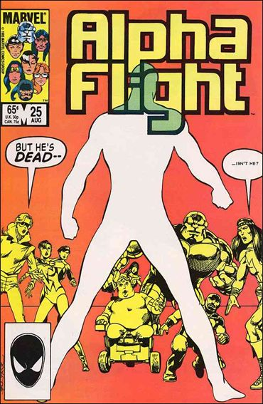 Alpha Flight (1983) 25-A by Marvel