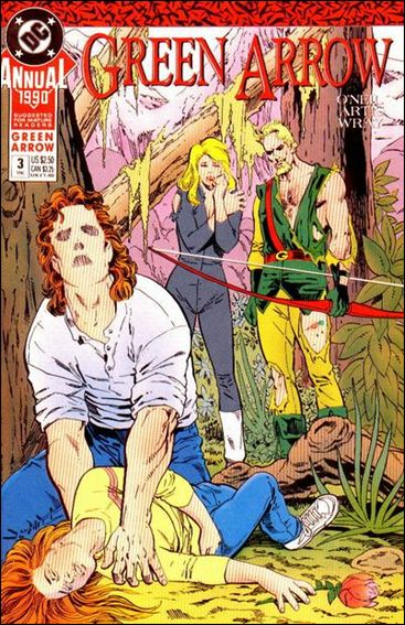 Green Arrow Annual (1988) 3-A by DC
