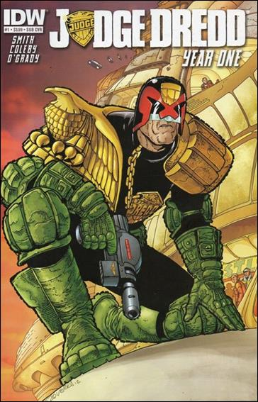 Judge Dredd: Year One 1-B by IDW