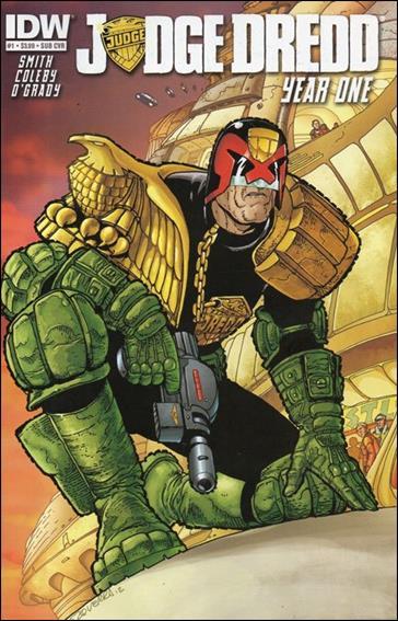 Judge Dredd: Year One 1-B by IDW