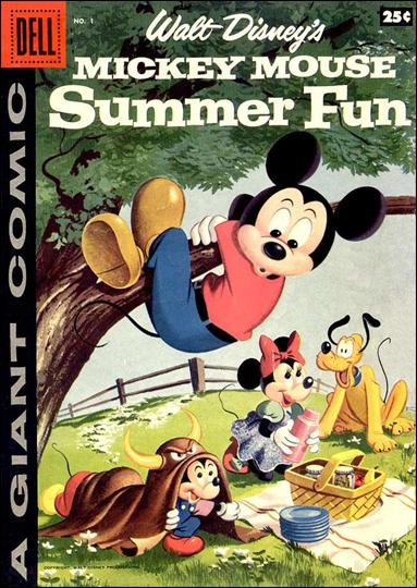 Mickey Mouse Summer Fun 1-A by Dell