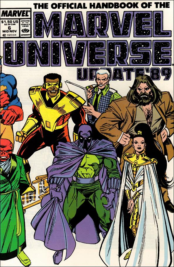 Official Handbook of the Marvel Universe (1989) 6-A by Marvel