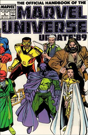 Official Handbook of the Marvel Universe (1989) 6-A