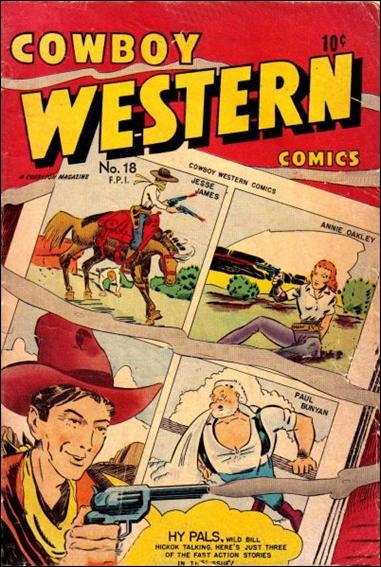 Cowboy Western 18-A by Charlton