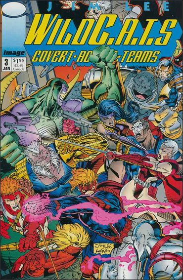 WildC.A.T.s: Covert Action Teams 3-A by Image