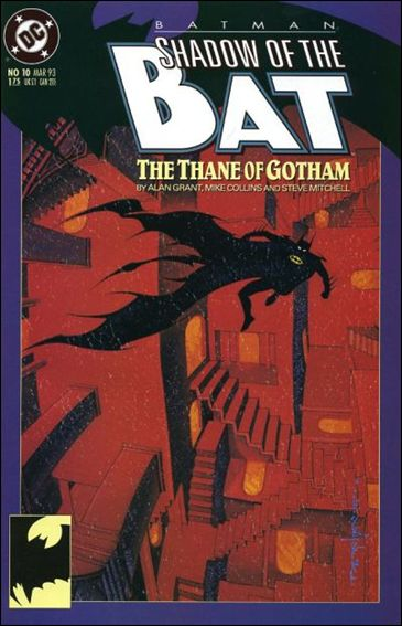 Batman: Shadow of the Bat 10-A by DC