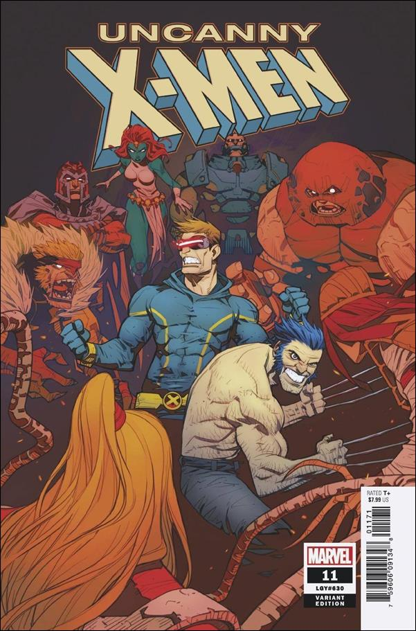 Uncanny X-Men (2019) 11-F by Marvel