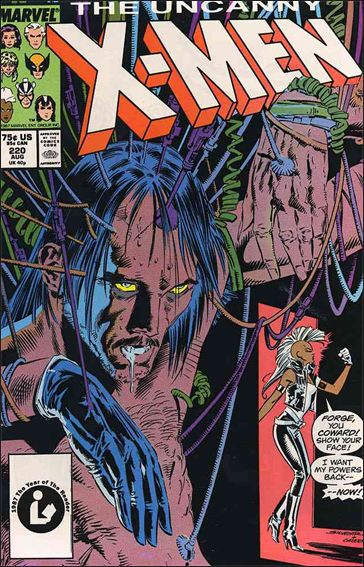 Uncanny X-Men (1981) 220-A by Marvel