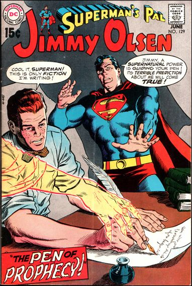 Superman's Pal Jimmy Olsen 129-A by DC