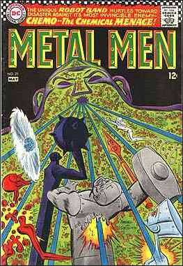 Metal Men (1963) 25-A by DC