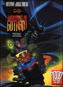 Batman/Judge Dredd: Judgement on Gotham (UK) 1-A by Hamlyn