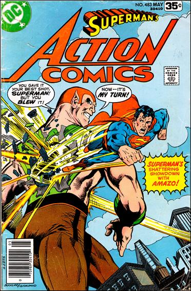 Action Comics (1938) 483-A by DC