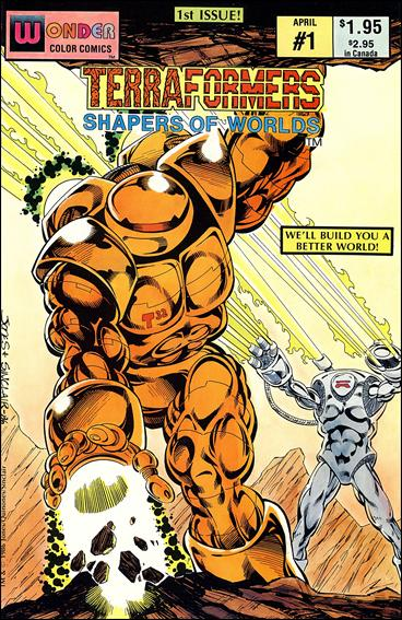 Terraformers 1-A by Wonder Color Comics