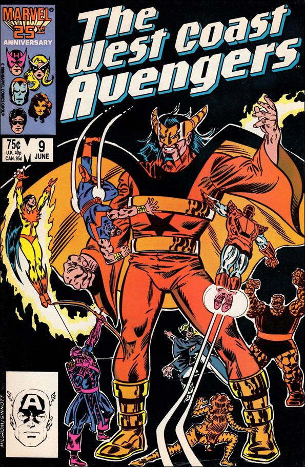 West Coast Avengers (1985) 9-A by Marvel