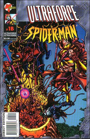 Ultraforce/Spider-Man 1B-A by Malibu