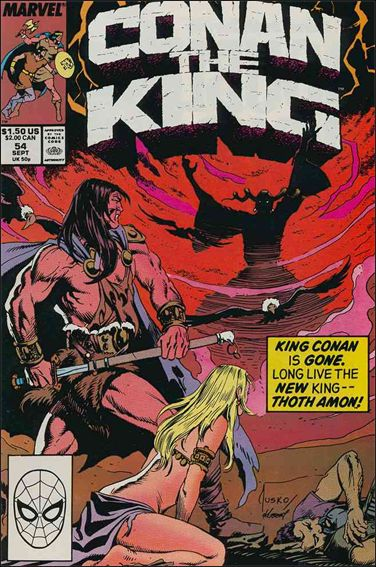 Conan the King 54-A by Marvel