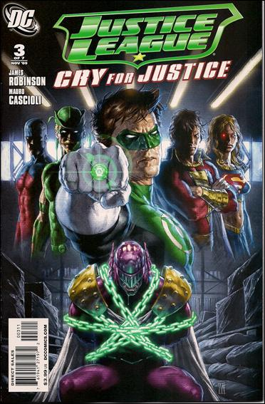 Justice League: Cry for Justice 3-A by DC