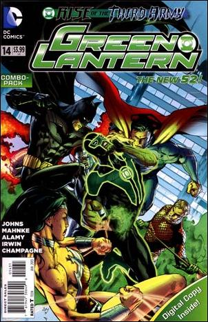 Green Lantern (2011) 14-B by DC