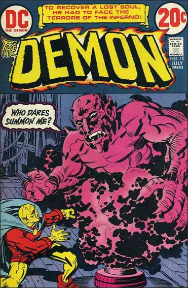 Demon (1972) 10-A by DC