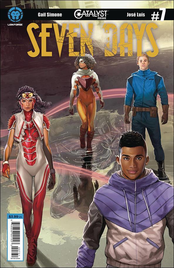Seven Days 7-C by Lion Forge Comics