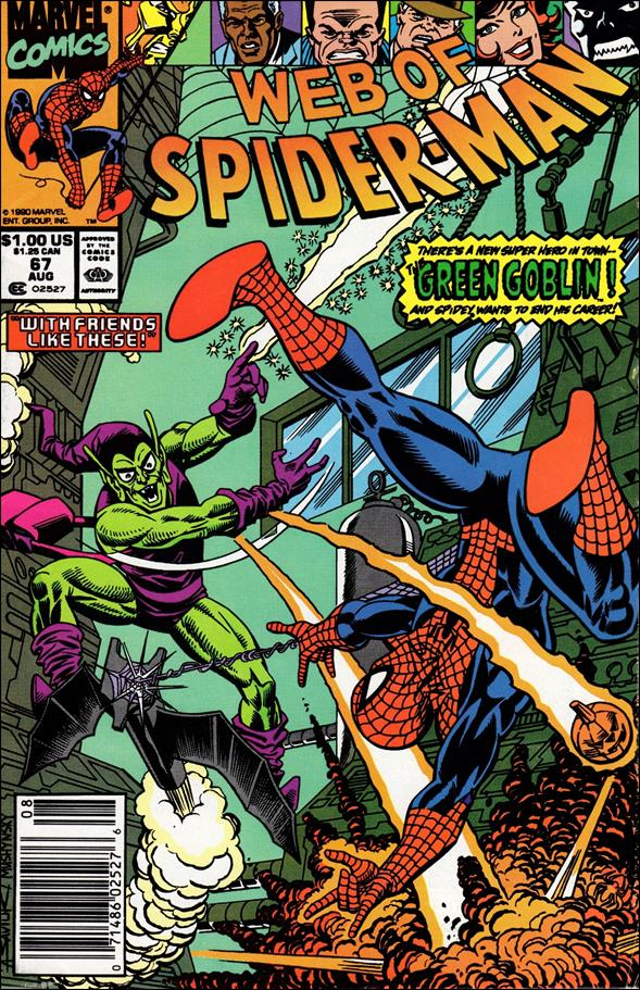 Web of Spider-Man (1985) 67-A by Marvel