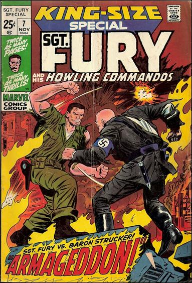Sgt. Fury and His Howling Commandos Annual 7-A by Marvel