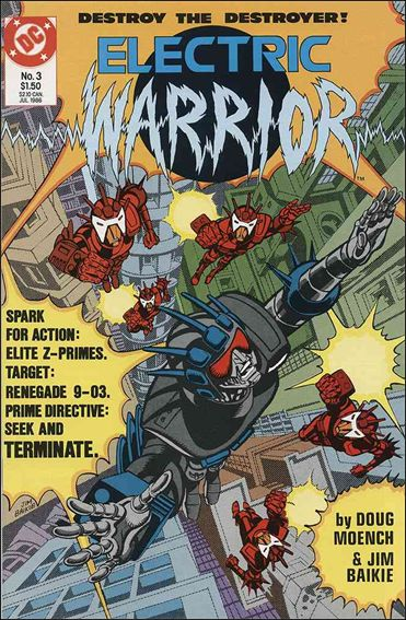 Electric Warrior 3-A by DC